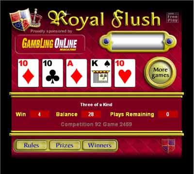 free casino games with real prizes